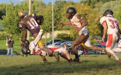Freshmen Football Gets Down and Dirty Oct. 3