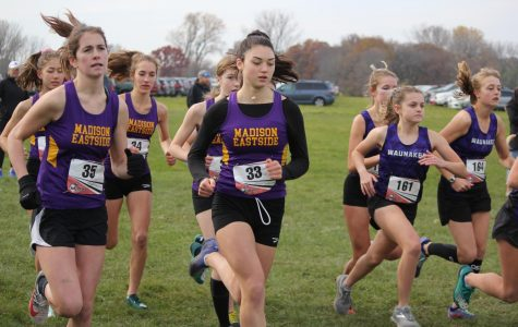 Girls Cross Co. Runners Sprint through Sectionals